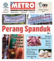 Cover POSMETRO 12 Mei 2019