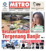 Cover POSMETRO 13 Mei 2019