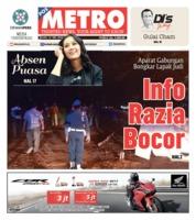 Cover POSMETRO 21 Mei 2019