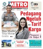 Cover POSMETRO 24 Mei 2019