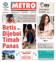 POSMETRO Cover 18 June 2019