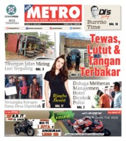 Cover POSMETRO 21 Juni 2019