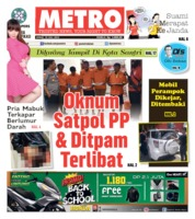 Cover POSMETRO 19 Juli 2019