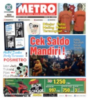 Cover POSMETRO 21 Juli 2019