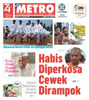 POSMETRO Cover 18 August 2019