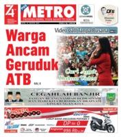 Cover POSMETRO 19 Agustus 2019