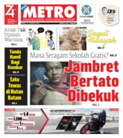 POSMETRO Cover 21 August 2019