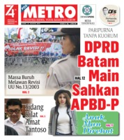 POSMETRO Cover 22 August 2019