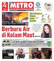 Cover POSMETRO 23 Agustus 2019