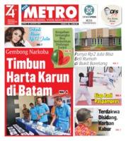 Cover POSMETRO 30 Agustus 2019
