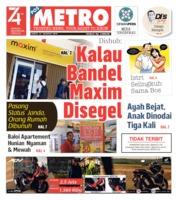 Cover POSMETRO 31 Agustus 2019