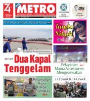 Cover POSMETRO 02 September 2019