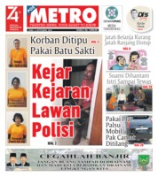 Cover POSMETRO 04 September 2019