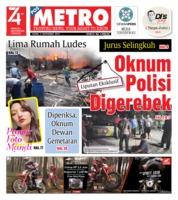 Cover POSMETRO 05 September 2019