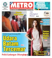 Cover POSMETRO 18 September 2019