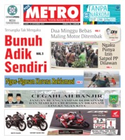 Cover POSMETRO 19 September 2019