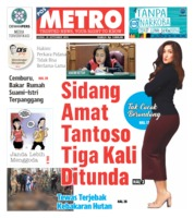Cover POSMETRO 20 September 2019