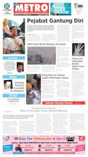 POSMETRO Cover 21 September 2019