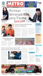 Cover POSMETRO 19 Oktober 2019