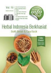 Cover Herbal Indonesia Berkhasiat: Bukti Ilmiah & Cara Racik Edisi Revisi oleh