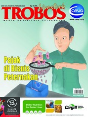 Cover Majalah TROBOS Livestock Februari 2018