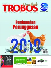TROBOS Livestock Magazine Cover January 2019