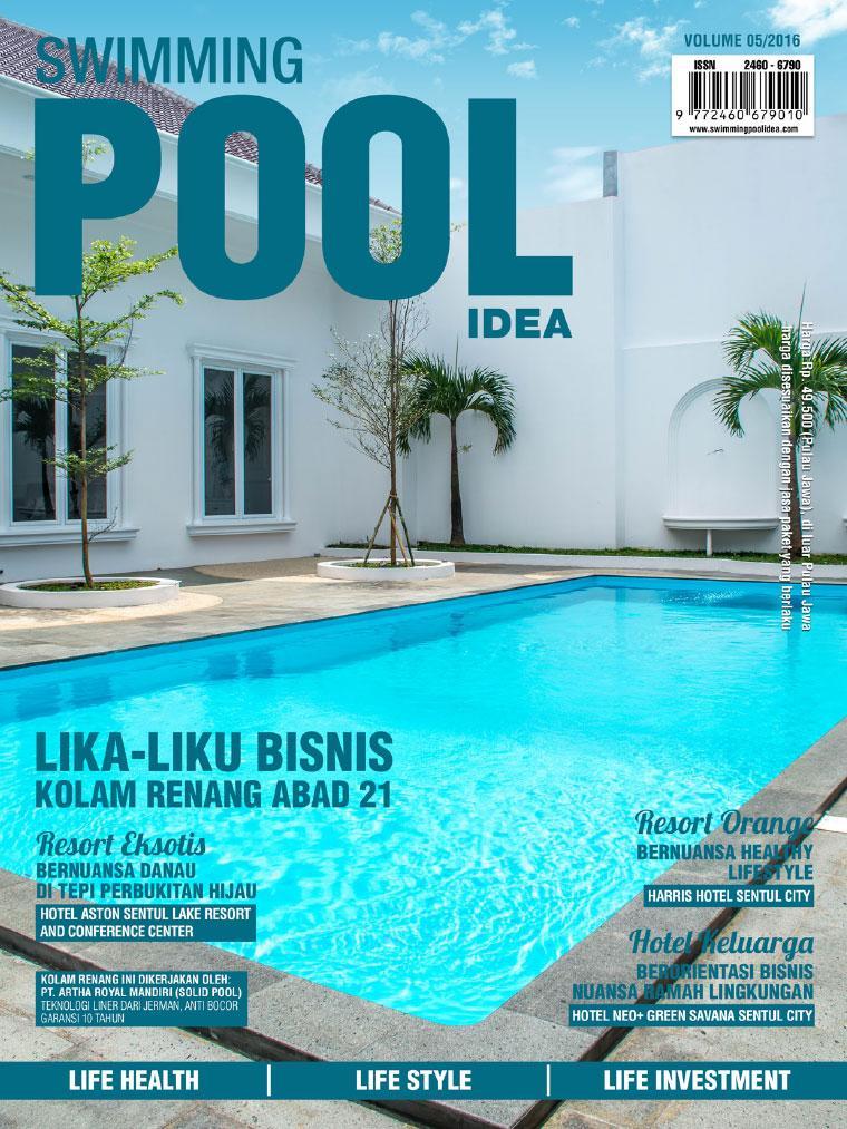 Swimming pool idea magazine ed 05 october 2016 gramedia for Obi swimmingpool 2016