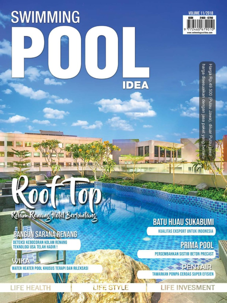 SWIMMING POOL IDEA Digital Magazine ED 11 November 2018