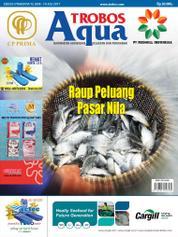 Cover Majalah TROBOS Aqua Juli 2017
