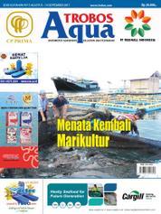 Cover Majalah TROBOS Aqua Agustus 2017