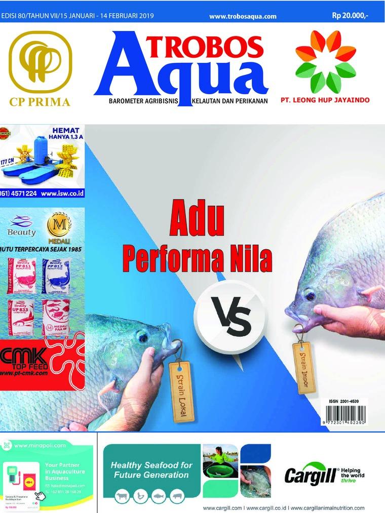 Majalah Digital TROBOS Aqua Januari 2019