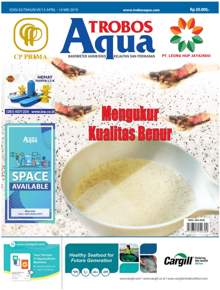 Majalah Digital TROBOS Aqua April 2019