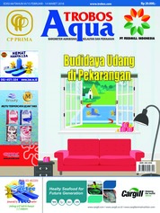 TROBOS Aqua Magazine Cover February 2018