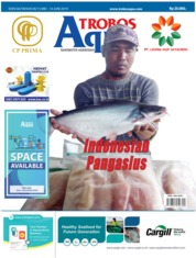 TROBOS Aqua Magazine Cover May 2019