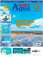 TROBOS Aqua Magazine Cover August 2019