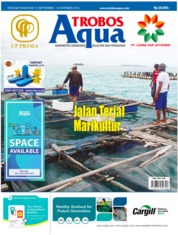 Cover Majalah TROBOS Aqua September 2019