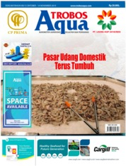 TROBOS Aqua Magazine Cover October 2019