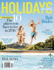 HOLIDAYS FOR COUPLE Magazine Cover