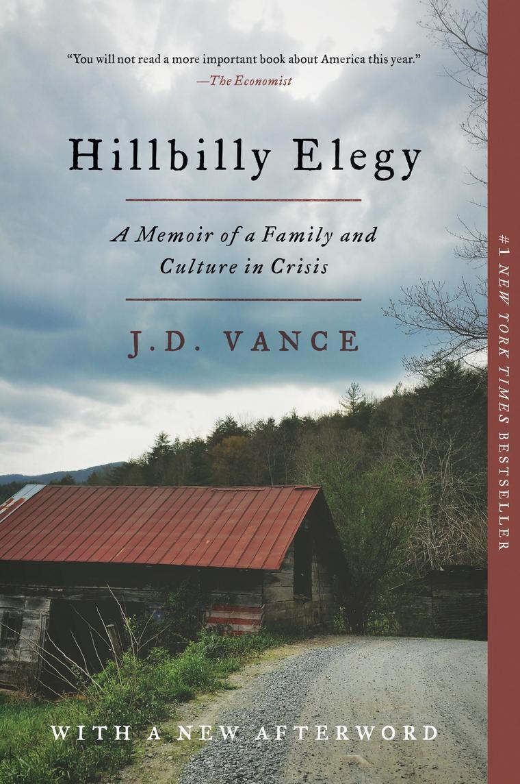Buku Digital Hillbilly Elegy oleh J. D. Vance