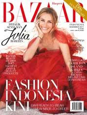 Cover Majalah Harper's BAZAAR Indonesia Desember 2017