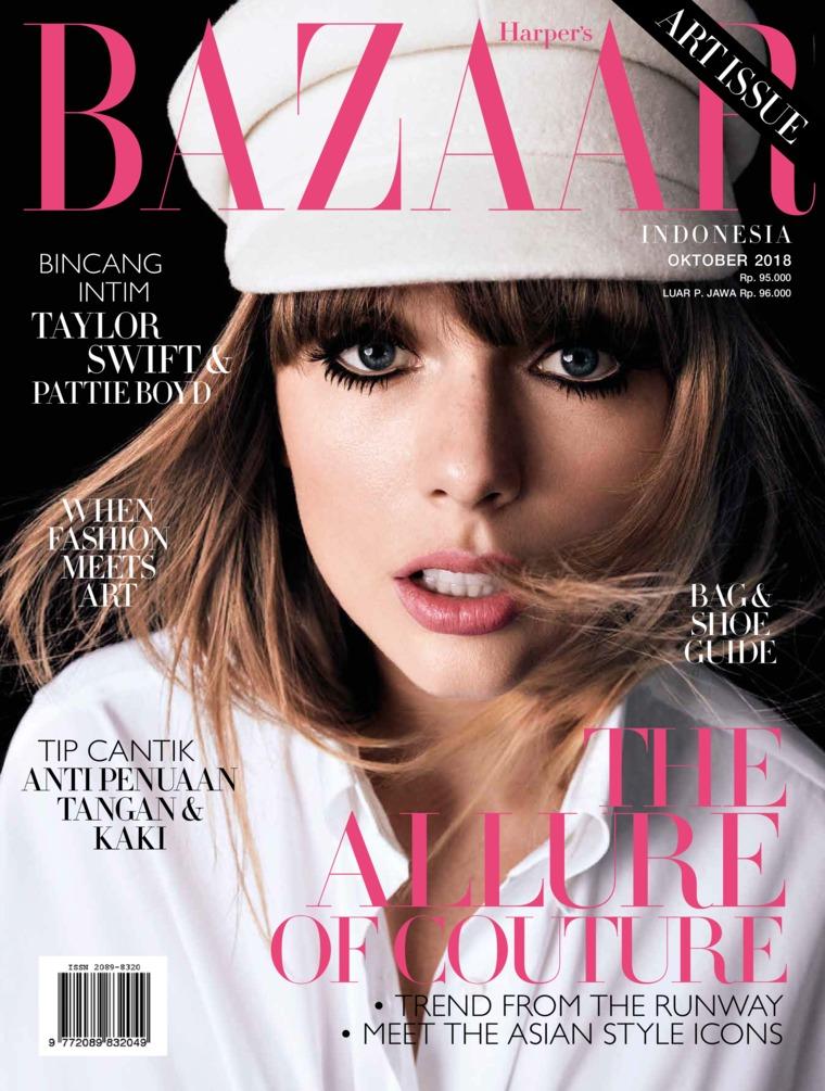 Harper's BAZAAR Indonesia Digital Magazine October 2018