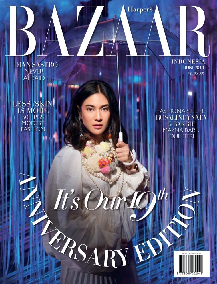 Majalah Digital Harper's BAZAAR Indonesia Juni 2019
