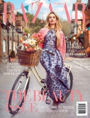 Cover Majalah Harper's BAZAAR Indonesia Mei 2018