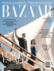 Cover Majalah Harper's BAZAAR Indonesia Juli 2018