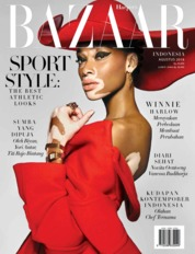 Harper's BAZAAR Indonesia Magazine Cover August 2018