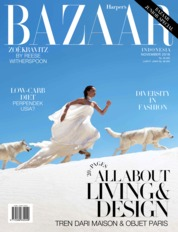 Cover Majalah Harper's BAZAAR Indonesia November 2018