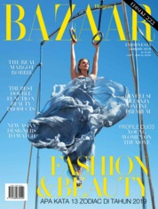 Harper's BAZAAR Indonesia Magazine Cover January 2019