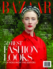 Harper's BAZAAR Indonesia Magazine Cover March 2019