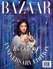 Harper's BAZAAR Indonesia Magazine Cover June 2019