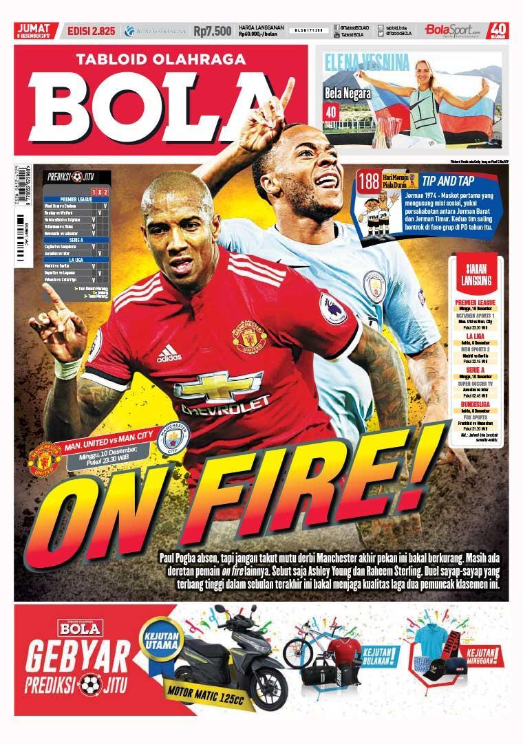 Majalah Digital Tabloid Bola Sabtu ED 2825 Desember 2017
